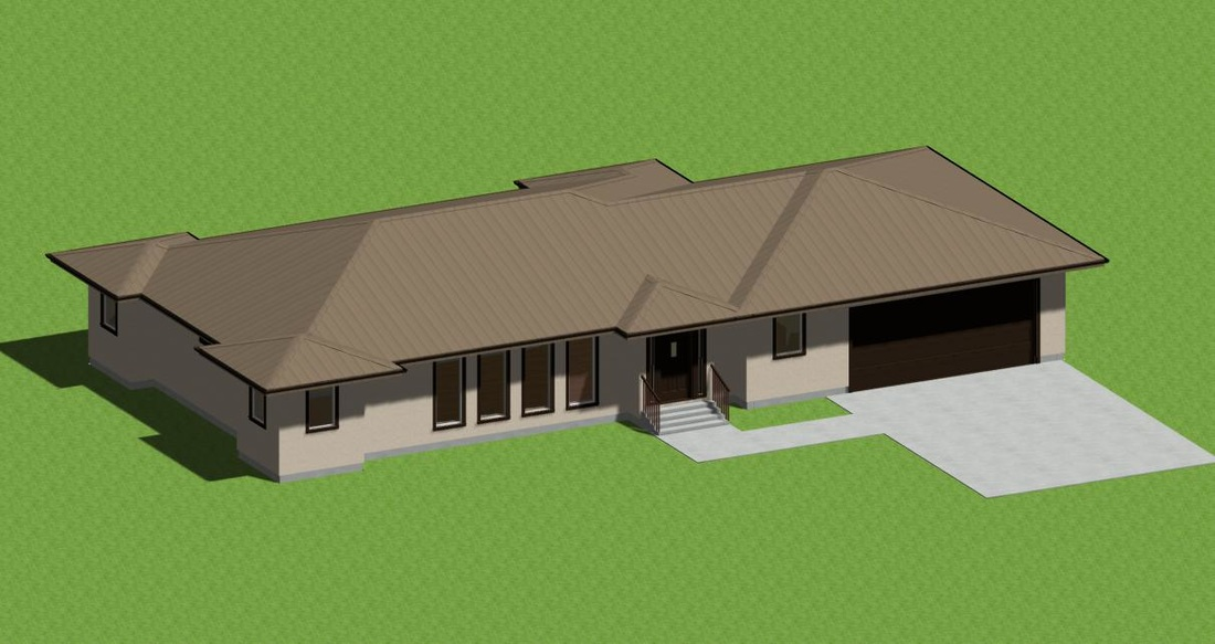 House plans house plans by designerswest for Metal roof 1500 sq ft house